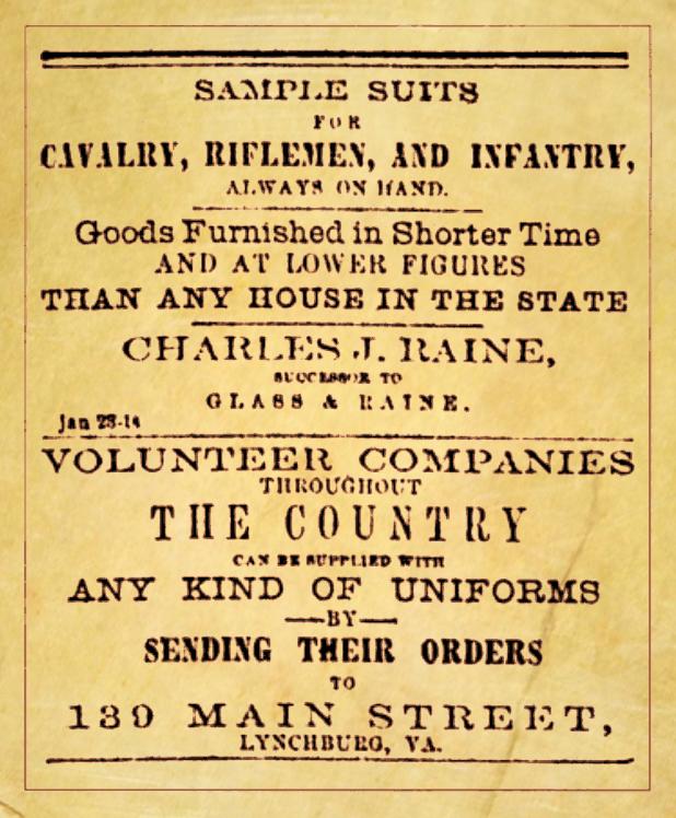 The Lynchburg Daily Virginian, January 23rd 1860