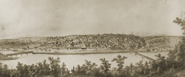 View of Lynchburg From Across the James River