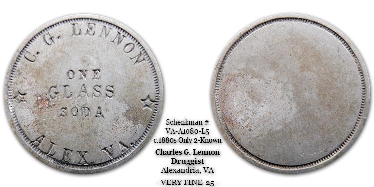 VA-A1080-L5 Charles G. Lennon Soda Water