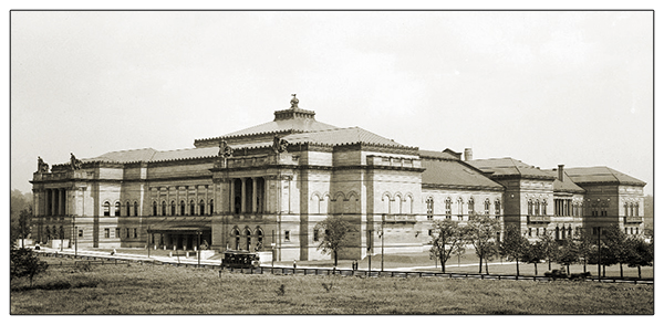 The Carnegie Institute c.1900s
