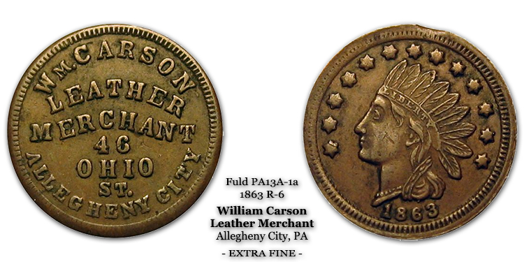 Wm Carson Leather Merchant, Fuld PA13A-1a